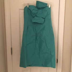 J.Crew Beau Monde Strapless dress